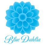 Blue Dahlia Logo Design