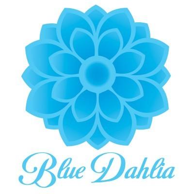 Blue Dahlia Logo Design