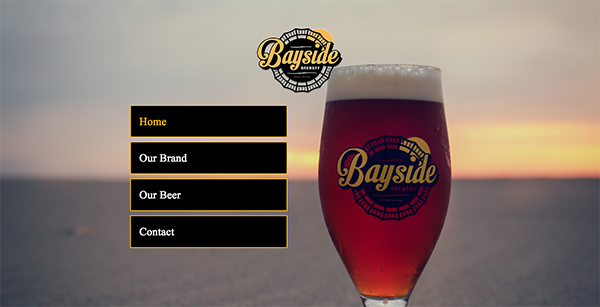 Beer Web Design