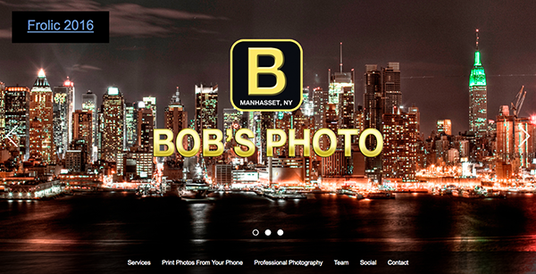 Photo Web Design