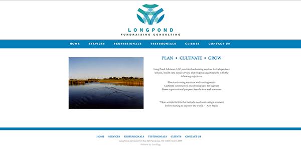 Fundraising Web Design