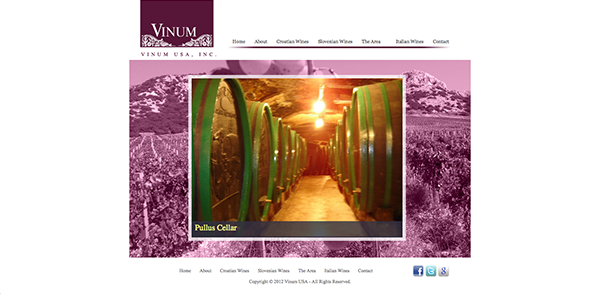 Wine Web Design