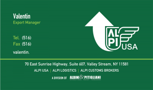 Alpi Business Card Design