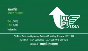 Alpi Business Card Design