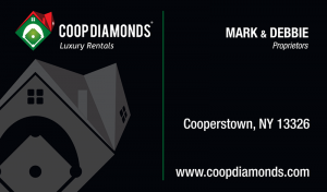 Coop Diamonds Business Card Design