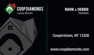 Coop Diamonds Business Card Design