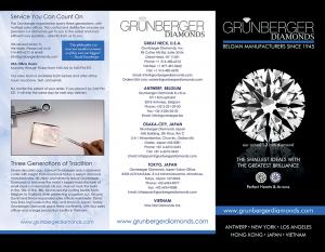 Grunberger Brochure Design