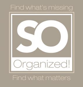 So Organized Logo Design