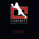 Cherbet's Restaurant Ad Design