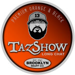 Taz Show Sticker Design