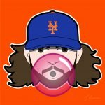 Robert Gsellman Mets Cartoon