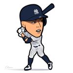 Aaron Judge Yankees Cartoon