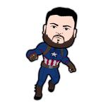 Captain Jon Cartoon Character