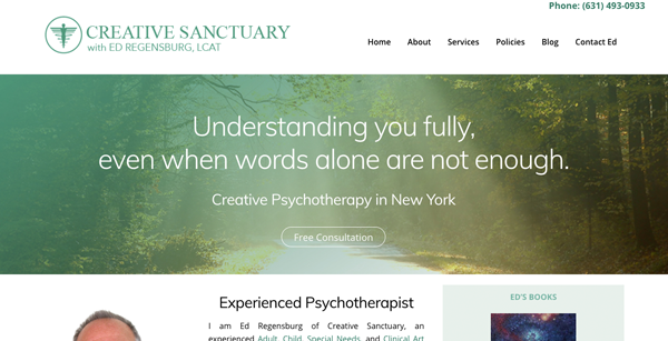 Creative Sanctuary Website