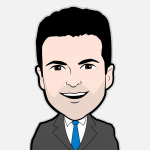 Darren Rovell Cartoon Character