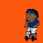 Dom Smith Mets Cartoon