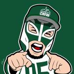 El Chapo Jets Cartoon Character