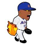 Jeurys Familia Mets Cartoon