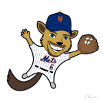 Jeff McNeil Flying Squirrel Cartoon