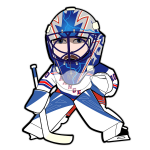 Henrik Lundqvist Rangers Cartoon