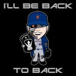 Jacob deGrom Mets Cartoon