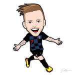 Ivan Rakitic Cartoon