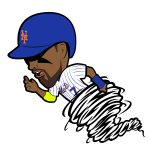 Jose Reyes Cartoon Character
