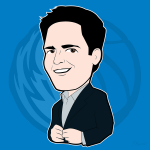 Mark Cuban Cartoon Character