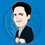 Mark Cuban Cartoon Character