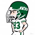 Marty Lyons Jets Cartoon