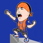 Mets General Cartoon Character