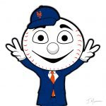 Mr Met Cartoon