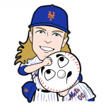 Noah Syndergaard Cartoon