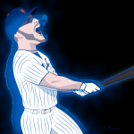 Pete Alonso Bear Cartoon