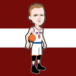Porzingis Cartoon Character