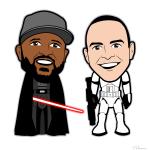 R2 C2 Cartoon Characters