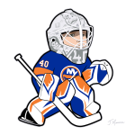 Robin Lehner Islanders Cartoon