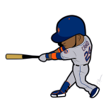 Robinson Cano Mets Cartoon