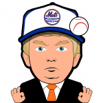 Trump Mets Cartoon Character