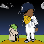 Yankees Star Wars Cartoon