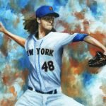 deGrom Mets Painting