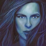 Kate Beckinsale Painting