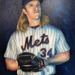 Noah Syndergaard Mets Painting