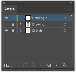 Layers Invisible Drawing