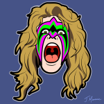 The Ultimate Warrior Cartoon