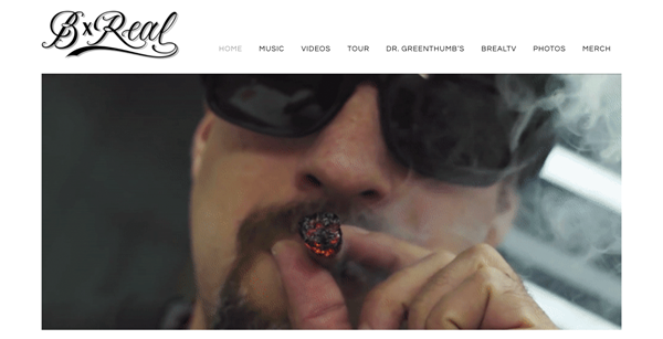 B-real Website