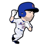 Neil Walker Mets Cartoon