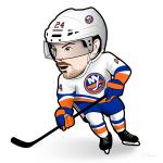 Scott Mayfield Islanders Cartoon