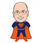 Super Steve Cohen Mets Cartoon