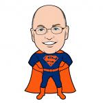 Super Steve Cohen Mets Cartoon